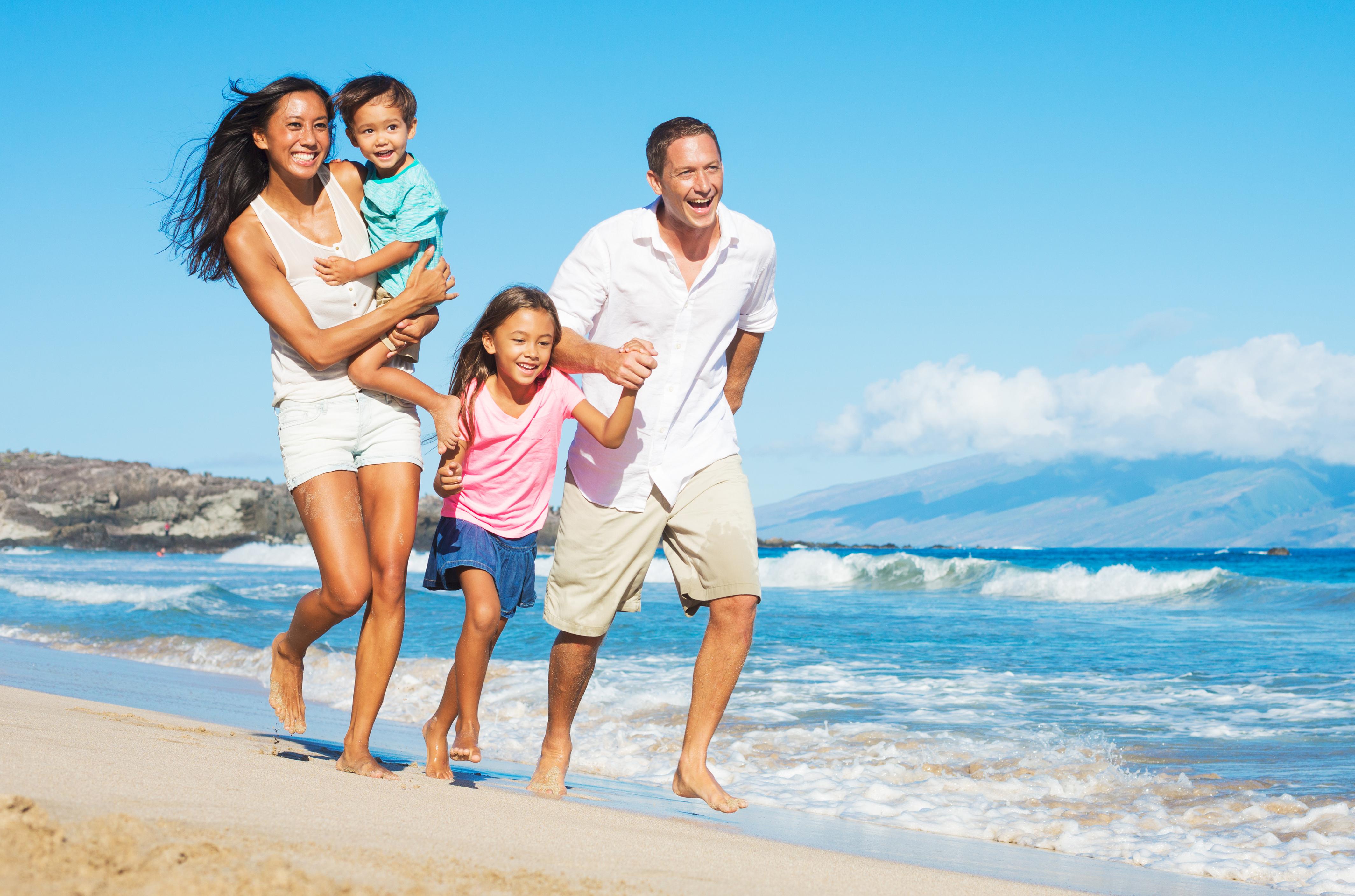 Family beachs nude foto 29